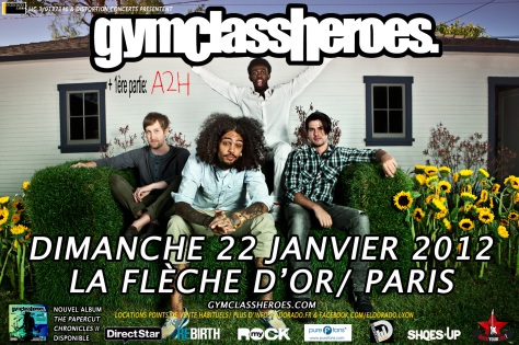 GYM CLASS HEROES 15X10