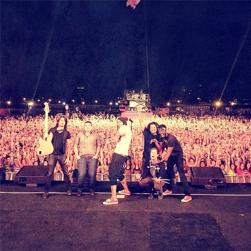Gym Class Heroes At Pink Nation