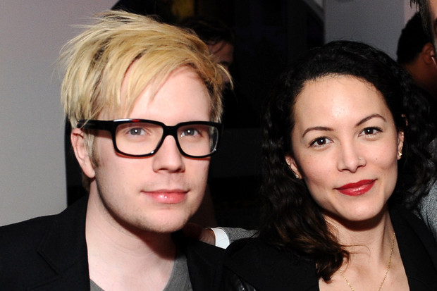 Patrick Stump with beautiful, cute, sweet, Wife Elisa Yao
