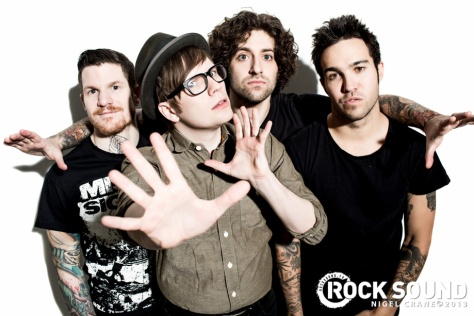 Fall Out Boy - RockSound #173
