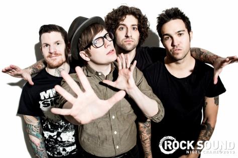 Fall Out Boy - RockSound #173