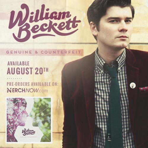 William Beckett Debut Album Info
