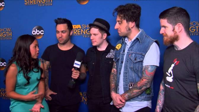 [Videos] Fall Out Boy At 2014 MDA Telethon