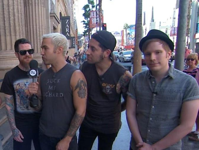 Fall Out Boy To Headline Mixmas 2014