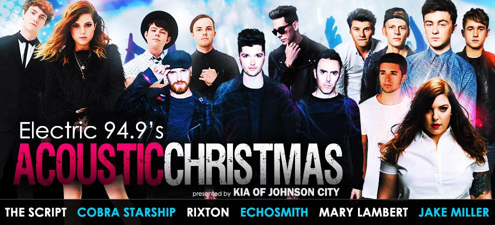 Acoustic Christmas 2019 Johnson City Tn.Decaydance Fans Concert