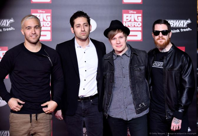 Fall Out Boy Holiday Merch Preview