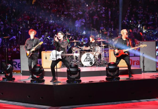 [Video] Fall Out Boy 2015 NHL All Star Game Performance