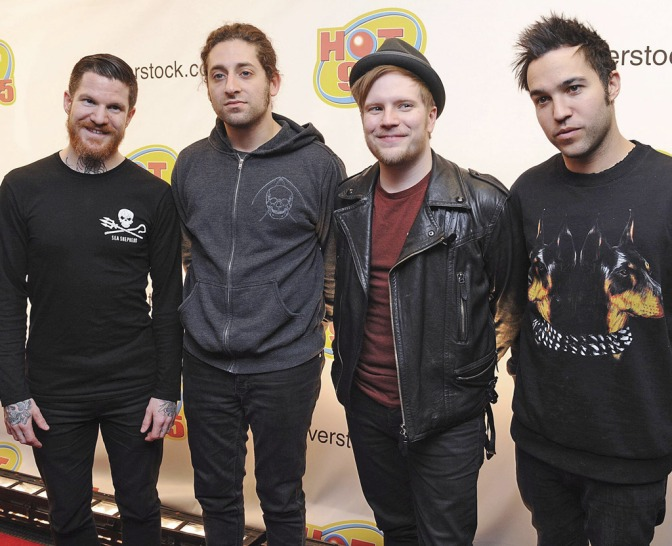 Fall Out Boy Release Valentine's Day Shirt