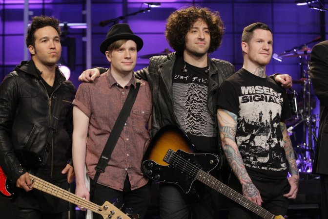 "Fall Out Boy To Release ""American Beauty/American Psycho"" Vinyl Box Set"